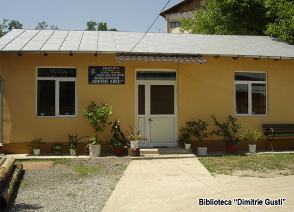 Biblioteca Dimitrie Gusti Comuna în imagini